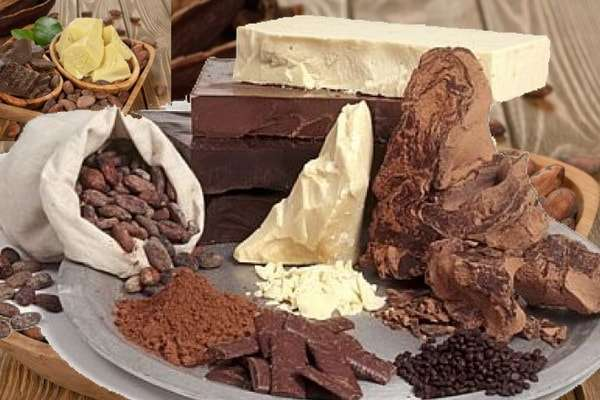 полезные продукты масло порошок шоколад