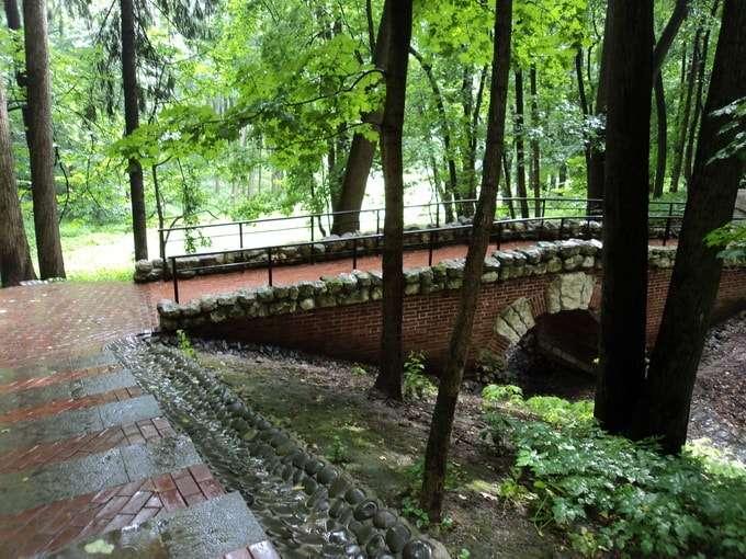 мостик через овраг