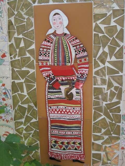 народный костюм крестьянки