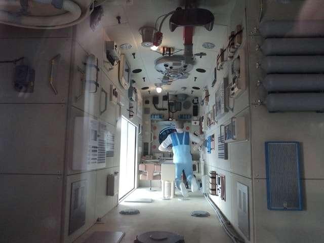 космическая станция салют-7 внутри