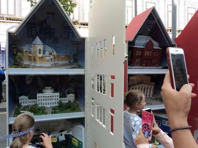 макеты известных исторических зданий