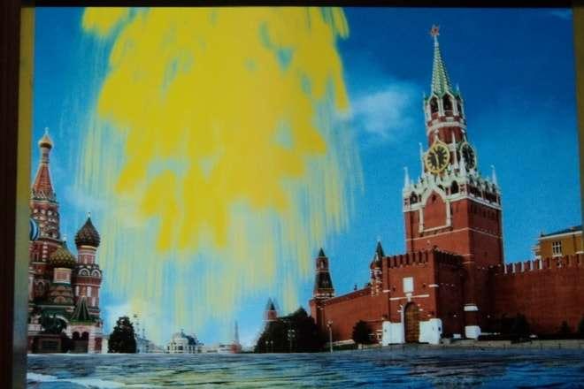 фейерверк на красной площади