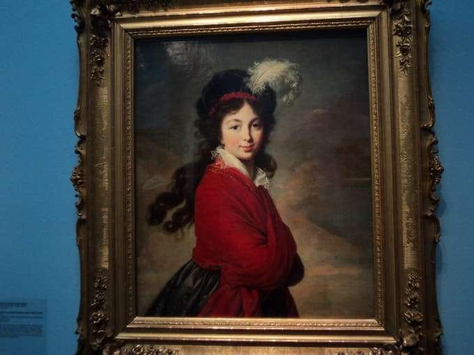 портрет великой княгини анны федоровны