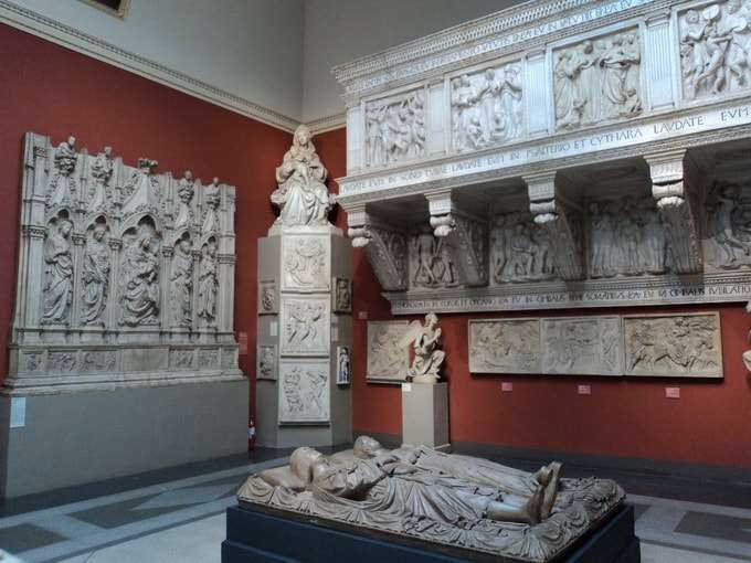 зал итальянской скульптуры
