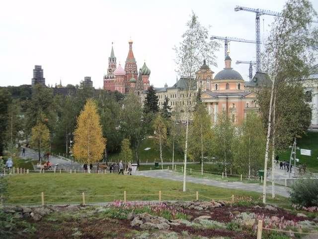 новый парк зарядье фото