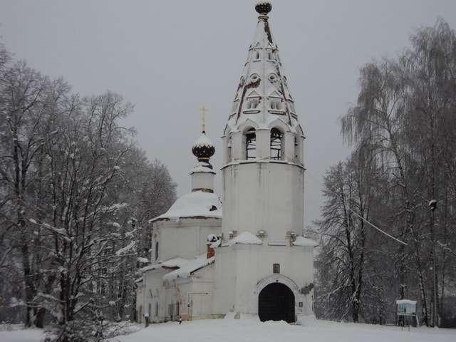 успенский собор на горе