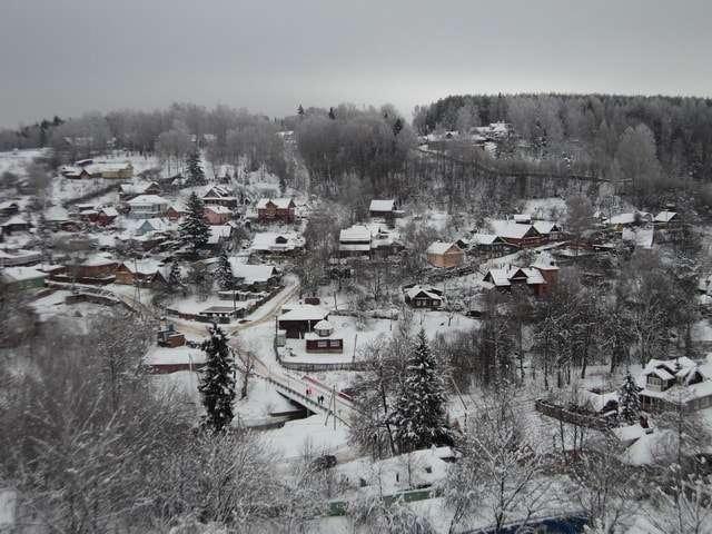 заречье зимой фото