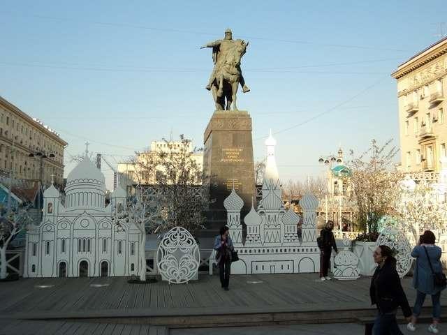 москва пасхальная 2018