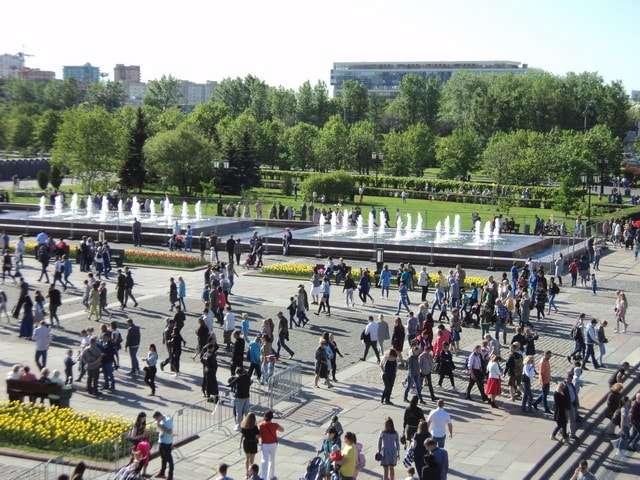 москва парк победы фото