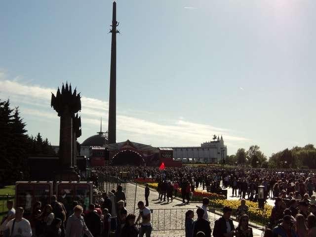 монумент площадь победителей