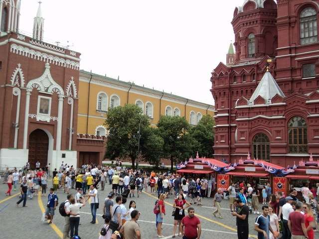 чемпионат мира по футболу 2018 фото москва