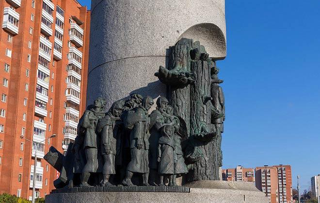 колонна беларусь партизанская