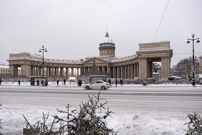 санкт петербург фото зимой