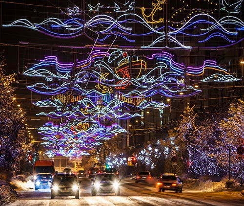 праздничная иллюминация