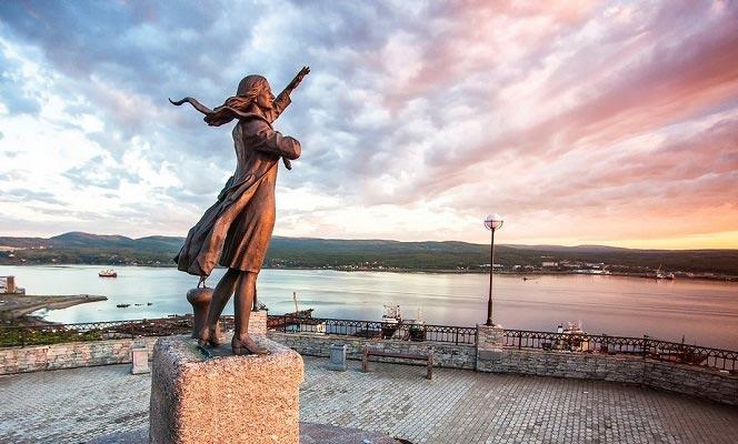фото города мурманск