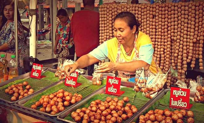 торговля фруктами