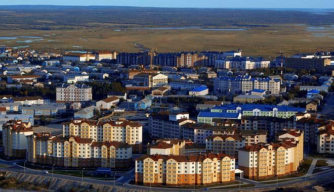 салехард фото города