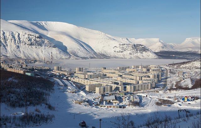 кировск хибины горнолыжный курорт