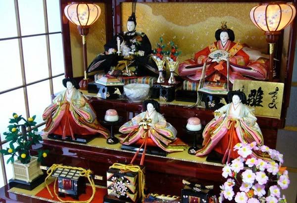 куклы япония