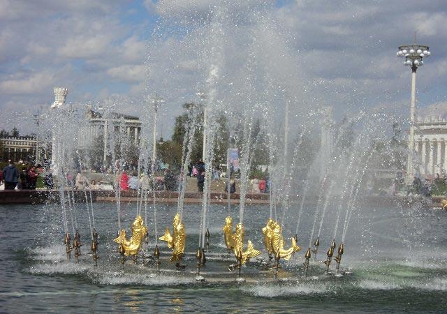 описание фонтан дружба народов
