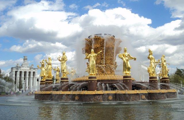 фонтан дружба народов после реставрации