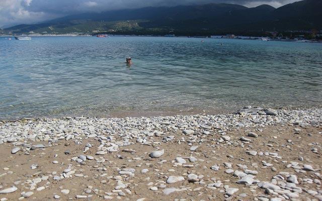 прозрачные воды черного моря