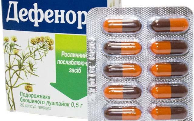аптечный препарат дефенорм