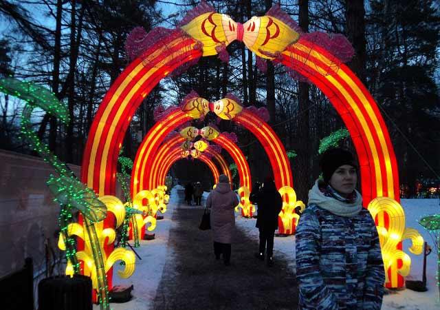 фестиваль китайских фонарей в сокольниках 2020