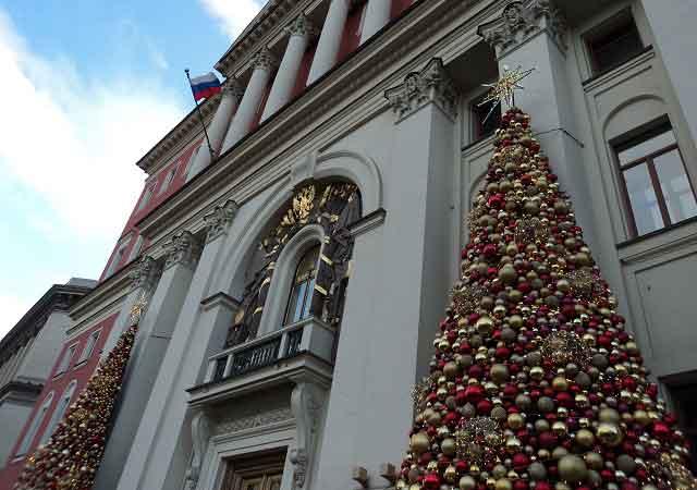 фото новый год в москве